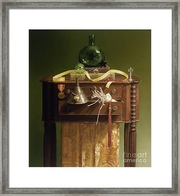 Oz Revisited Framed Print by Barbara Groff