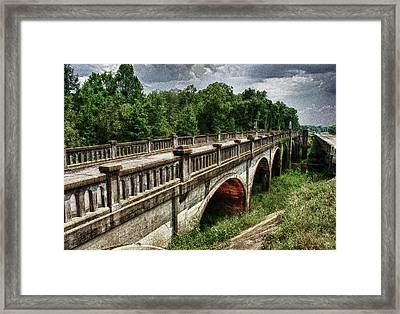 Ozark Alabama Bridge Framed Print by Frank Feliciano