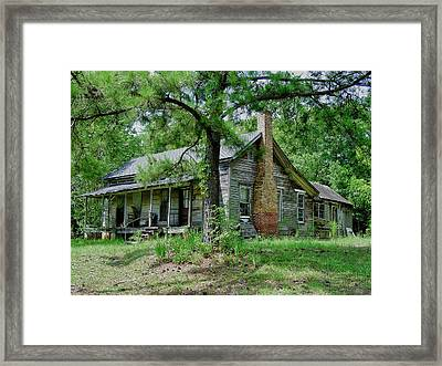 Ozark Alabama Homestead Framed Print