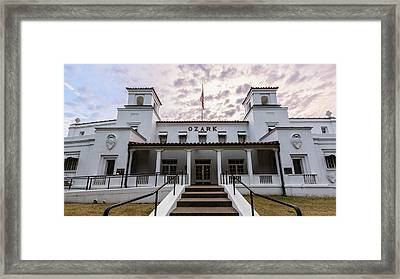 Ozark Bathhouse - Hot Springs Framed Print by Stephen Stookey