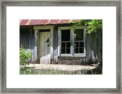 Ozark Homestead Framed Print by Marty Koch