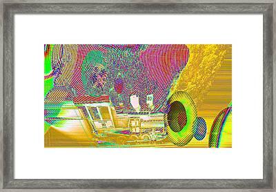 Ozzy's Crazy Train   Framed Print by Jeff Swan