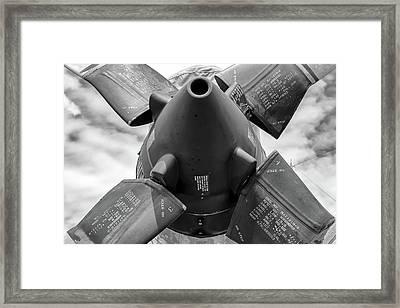 P-3 Prop Framed Print
