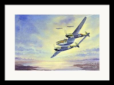 Aircraft Artist Framed Prints