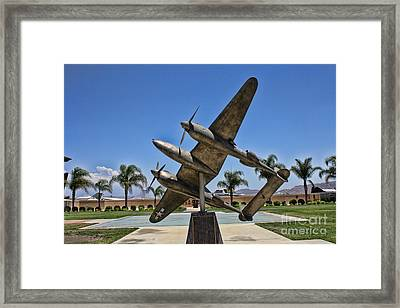 P-38 Memorial March Field Museum Framed Print by Tommy Anderson