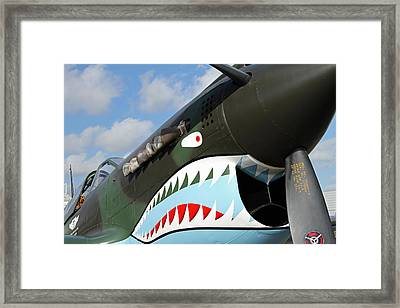 P-40 Flying Tigers Framed Print by Mark Grayden