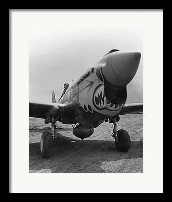Warhawk Framed Prints