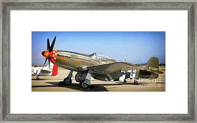P-51 Mustang Speedball Alice Framed Print