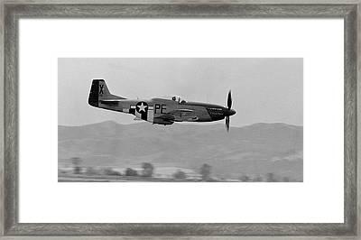 P-51d Framed Print by BuffaloWorks Photography