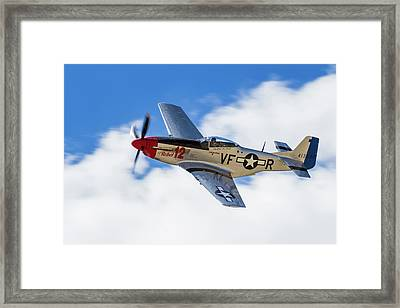 P-51 The Rebel Framed Print