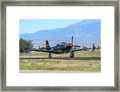 P-63 Kingcobra Framed Print by Tommy Anderson