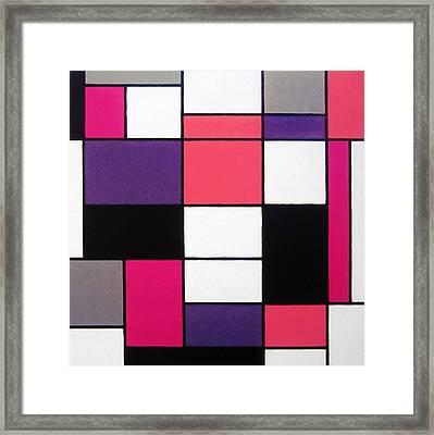 P Cubed Framed Print