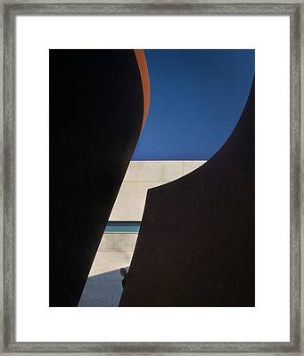 P For Pulitzer Framed Print