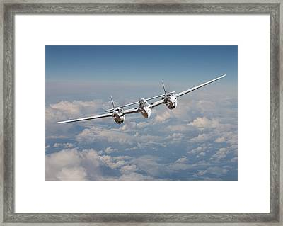 P38 - Polished Performance Framed Print by Pat Speirs