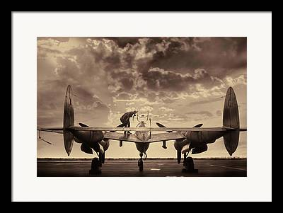 Fighter-bomber Photographs Framed Prints