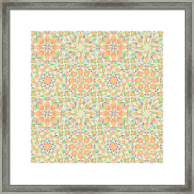 p4m Symmetry 170 Framed Print