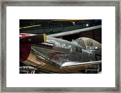 P51 Mustang Framed Print by David Bearden