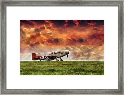 P51 Warbird Framed Print
