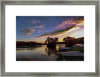 Pa French Creek 2074 Framed Print by Scott McAllister