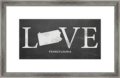 Pa Love Framed Print by Nancy Ingersoll