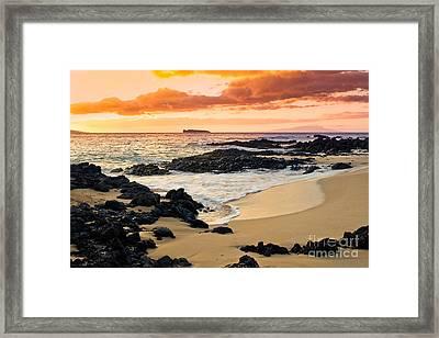 Paako Beach Dreams Framed Print by Sharon Mau