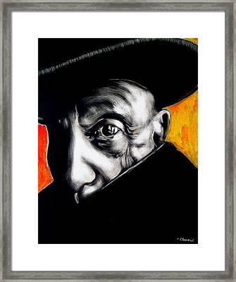 Pablo Framed Print by Chester Elmore