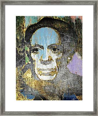 Pablo Picasso 2 Framed Print