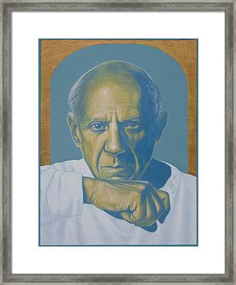 Pablo Picasso Framed Print by Jovana Kolic