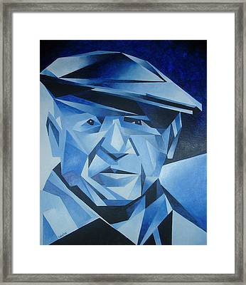 Pablo Picasso The Blue Period Framed Print