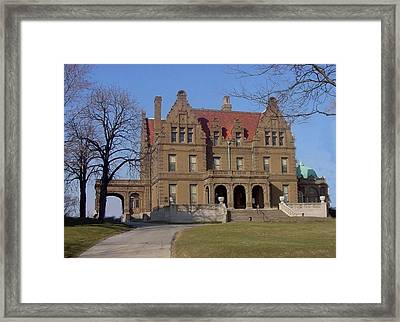 Pabst Mansion Photo Framed Print by Anita Burgermeister