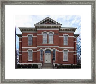 Pace-armistead Hall Framed Print by Erik Berglund