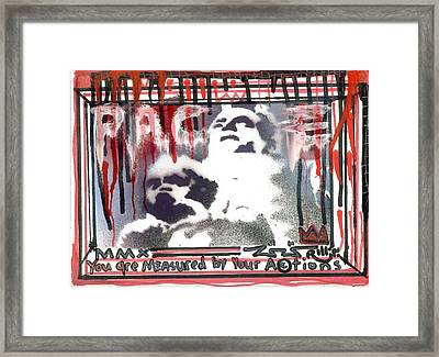 Pace4peace Framed Print by Robert Wolverton Jr