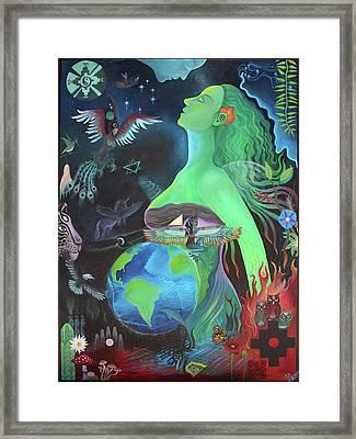 Pachamama Framed Print by Sarah Grubb
