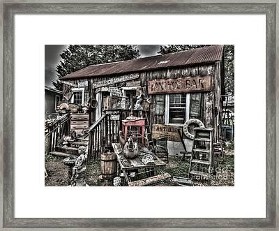 Pachos Bar Framed Print