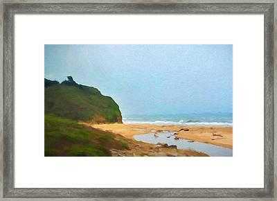 Pacific Beach Framed Print