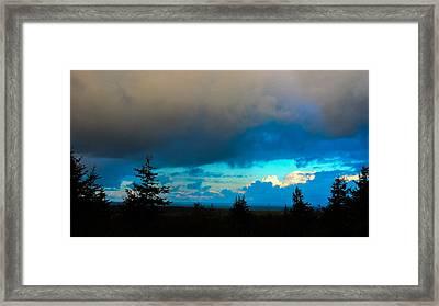 Pacific Blues II Framed Print