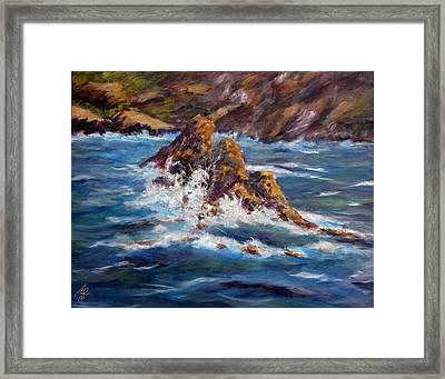 Pacific Coast Framed Print by Thomas Restifo