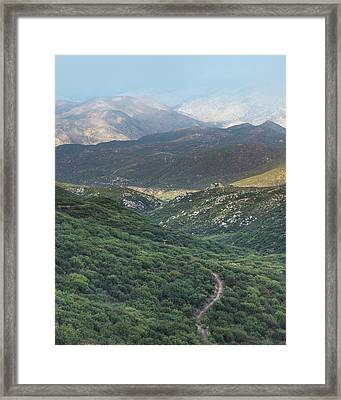 Pacific Crest Trail Framed Print by Joseph Smith
