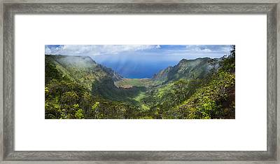 Pacific Gateway Framed Print