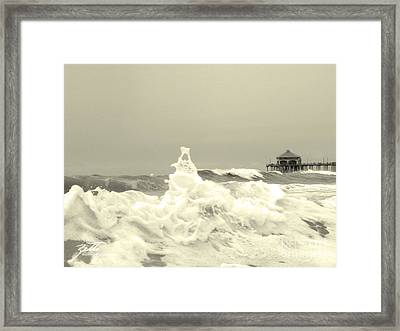 Pacific Love Framed Print