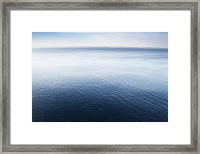 Pacific Ocean Big Sur California Framed Print by Sebastian Kennerknecht