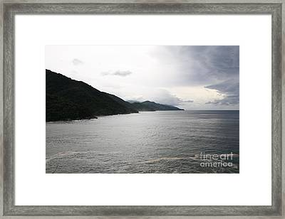 Pacific Ocean Framed Print