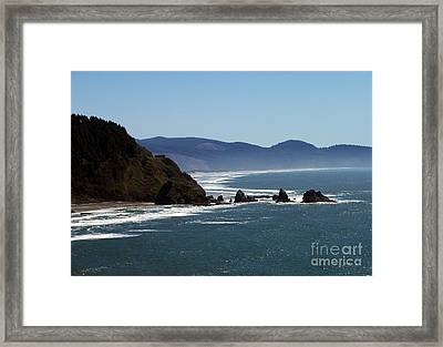 Pacific Ocean View 2 Framed Print by Chalet Roome-Rigdon