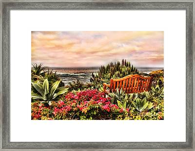 Pacific Ocean View Framed Print