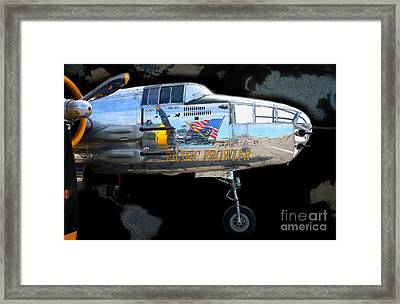 Pacific Prowler Framed Print by Barbara Teller