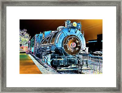 Pacific Southwest Railway And Meseum Framed Print by Daniel Hebard