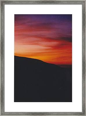 Pacific Sunset I Framed Print