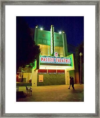 Framed Print featuring the photograph Pacific Theater - Culver City by Chuck Staley