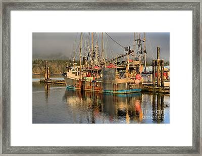 Pacific Titan Reflections Framed Print by Adam Jewell