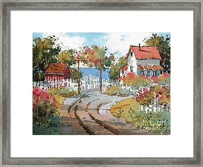 Pacific View Framed Print